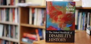 Disability Studies History book